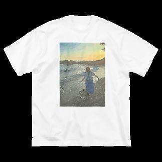 Munōの心象風景_ビッグT Big silhouette T-shirts