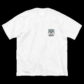 HARUTAのオオカミくんビッグシルエットT Big silhouette T-shirts