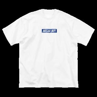 TOBITORA とびとらのBREAK BOY 【T.B.T.R.】 Big silhouette T-shirts