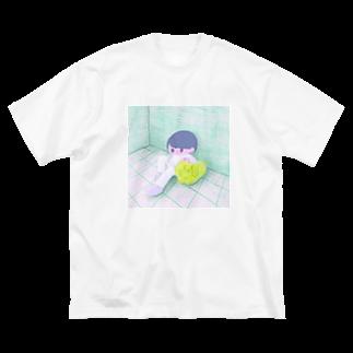 モニョチタポミチのroom Big silhouette T-shirts