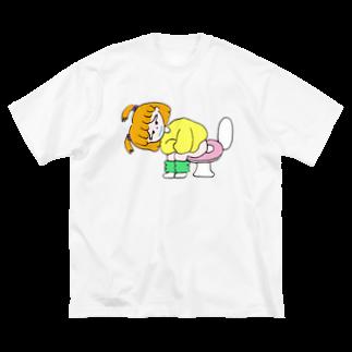 りかちゃんのはらいたチャン Big silhouette T-shirts