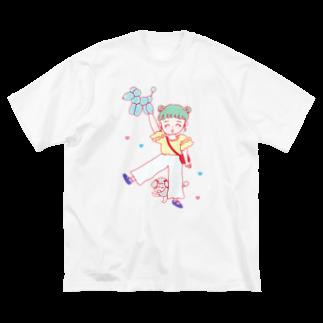 りかちゃんのこっちこっち〜 Big silhouette T-shirts