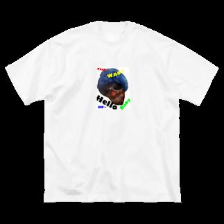 pipopapo0818の#ぴぽぱぽ10 Big silhouette T-shirts