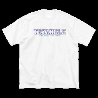 080TOKYOのTRYANGLE Big silhouette T-shirts