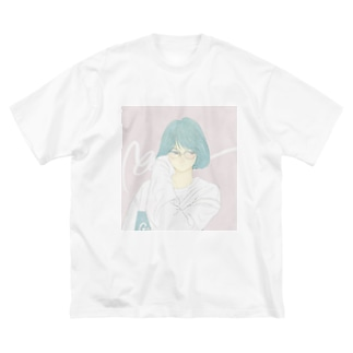 city girl Big silhouette T-shirts