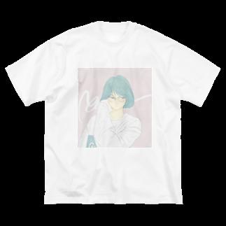 あおのこのcity girl Big silhouette T-shirts