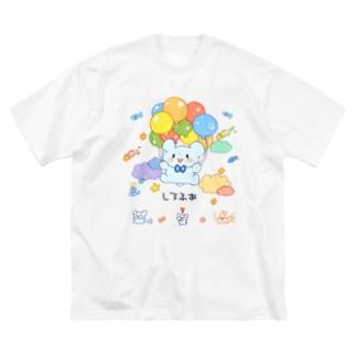 しろふあ*すぺしゃる Big silhouette T-shirts