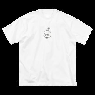 SuuSuuの脳内お花畑の妙子 Big silhouette T-shirts