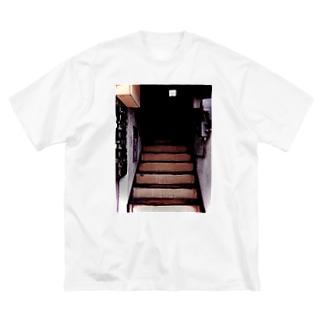 いまはもうない Big silhouette T-shirts