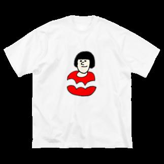 Nririのよいかおのにんげん Big silhouette T-shirts