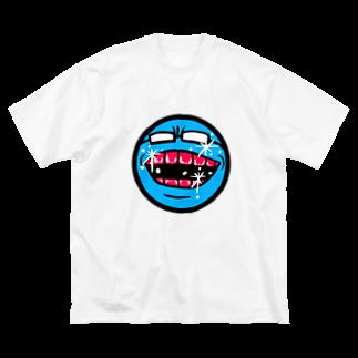 ぼんだぁのメガネくん Big silhouette T-shirts