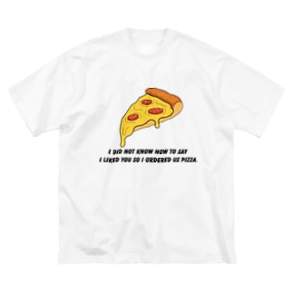 people with soulsのPIZZA collection Big Silhouette T-Shirt