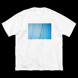 film:のfilm:電線 Big silhouette T-shirts