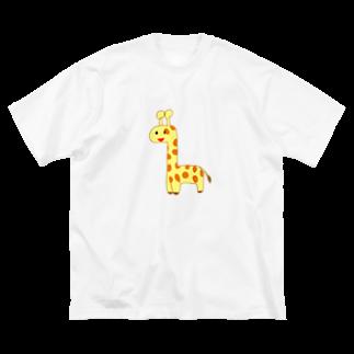 Ryu-kaのそふぃ Big silhouette T-shirts