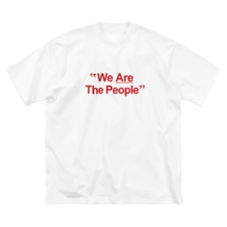 """""""We Are The People"""" Big silhouette T-shirts"""