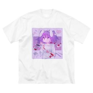 それでもすき。 Big silhouette T-shirts