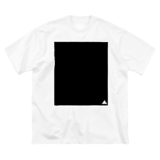 くろさんかく Big silhouette T-shirts