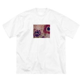 アネモね Big silhouette T-shirts