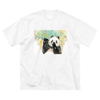 彩り Big silhouette T-shirts