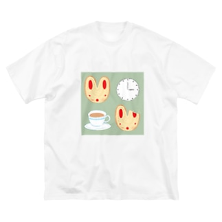ソーメンズのおやつの時間 Big Silhouette T-Shirt