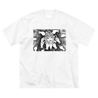 IDOL Big silhouette T-shirts