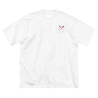 HaoWave-マスコット Big silhouette T-shirts