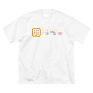 はるniロゴ【両面印刷】 Big silhouette T-shirts