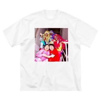 アイアムアイとギャル Big silhouette T-shirts