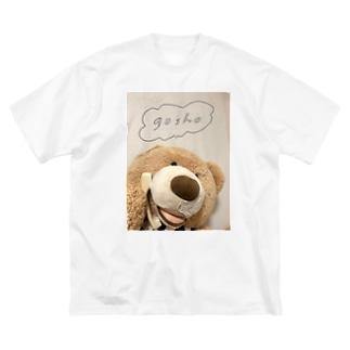 おでんわごしょDX Big silhouette T-shirts