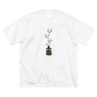 train… Big silhouette T-shirts