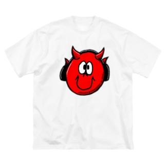 ロックアウトくん Big silhouette T-shirts