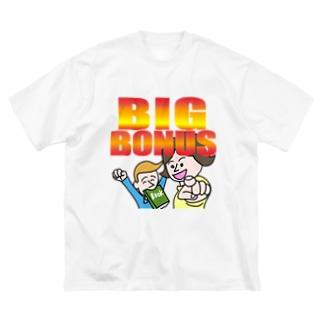 ビッグボーナス Big silhouette T-shirts