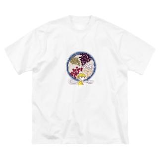 豆花 Big silhouette T-shirts