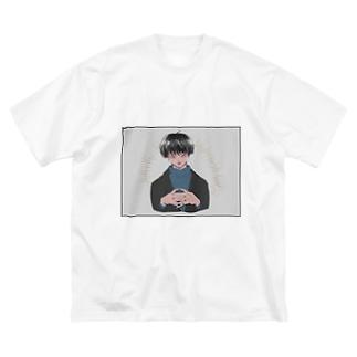 顔が良いひと Big silhouette T-shirts