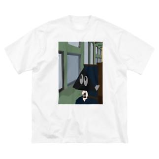 伊賀越え Big silhouette T-shirts