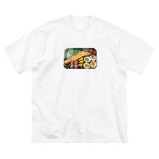 いつかのお弁当 Big silhouette T-shirts