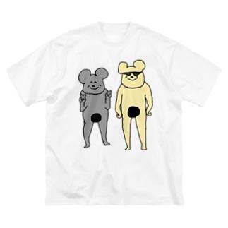 コンプラグマのコンプラグマたちの記念撮影 Big silhouette T-shirts