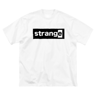 strange world's end strange02ビッグシルエットTシャツ(淡色/濃色) Big silhouette T-shirts