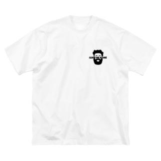 leave me alone Big silhouette T-shirts