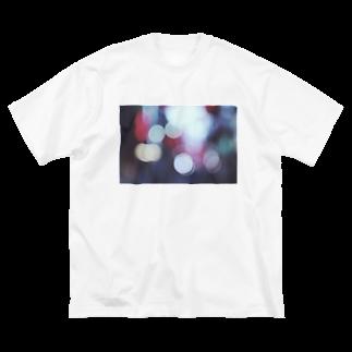 sukinamonoの光 Big silhouette T-shirts