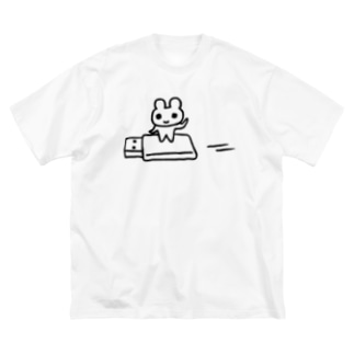 USBマウス Big silhouette T-shirts