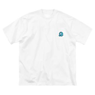 トリートメントおばけ Big silhouette T-shirts