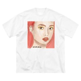 真赭色の髪の乙女 Big silhouette T-shirts