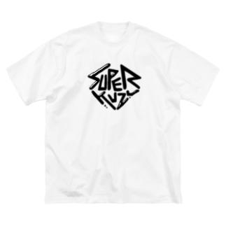 すーぱーくずB Big silhouette T-shirts