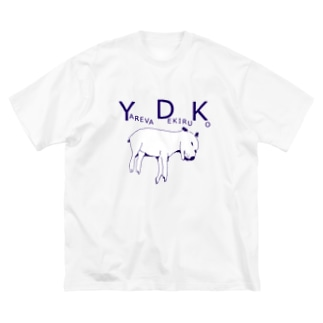 YDK Big silhouette T-shirts