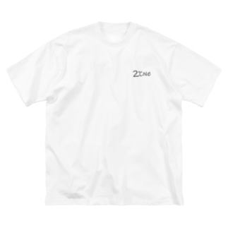 2℃Ne(nidone) Big silhouette T-shirts