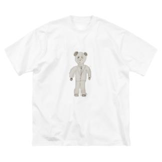 パンダちゃんの就活 Big silhouette T-shirts