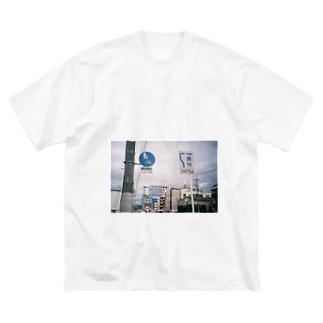 多いのよ Big silhouette T-shirts