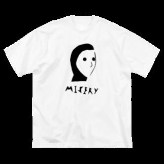 forMのMisery boy Big silhouette T-shirts