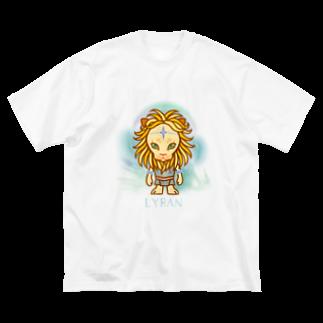 alpacca-creativeのLyran(リラ星人) Big silhouette T-shirts